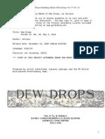 Dew Drops, Vol. 37, No. 18, May 3, 1914 by Various