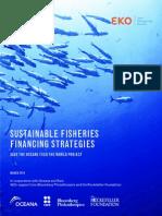 Sustainable Fisheries Financing Strategies