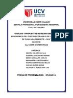 Analisis Ergonomico de Plaza Vea