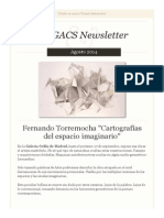 Newsletter Nº 22 Agosto 2014