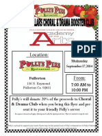 Polly's Pies Flyer
