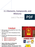 2 1 elements compounds and mixtures