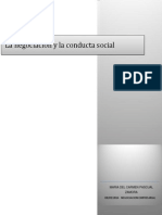 Negociacion y La Conducta Social