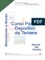 Curso Patron Deportivo de 3ra