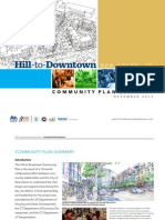 Hill to Downtown Community Plan Summary