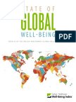 State of Global Well-being Gallup Poll 2014