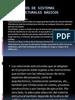 Tipos de Sistemas Estructurales Básicos