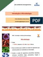 Introdução e História Da Microbiologia