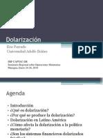 Dolarizacións