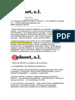 Oferta de Bolsas de Plastico y Otros Productos...