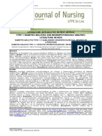 DIABETES MELLITUS TIPO 1 E HABILIDADES NE UROPSICOLÓGICAS REVISÃO DE LITERATURA