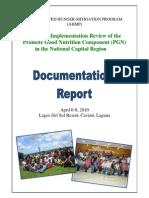 AHMP Documentation Report