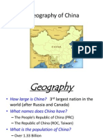 geography of china 2014 notes