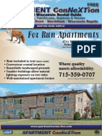 Central Wisconsin APARTMENT ConNeXTion Rental Guide October 2014