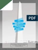 Mavericks Annual Conference Agenda