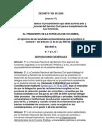 Decreto-ley 760 de 2005