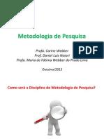Metodologia de Pesquisa (Fátima)