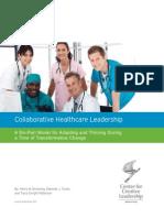Collaborative Healthcare Leadership