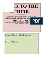 design brief by nhi