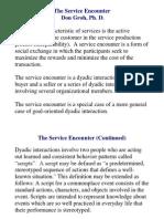 LECT NOTES (the Sasdaervice Encounter)