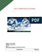 Formacion de Las Nubes Con Experiencia y Videos.