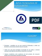 FLOCON®  - NOVA TECNOLOGIA DE FLOCULANTES