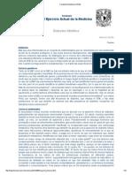 Facultad de Medicina UNAM Fisiopatologia de La Diabetes