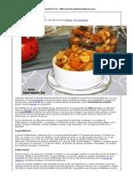 Compota o Mermelada de Fruta y Fruto Seco