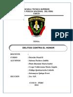 Monografia de Delitos Contra El Honor