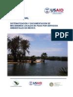 Mecanismos de Pago Por Servicios Ambientales en Mexico-usaid 2013