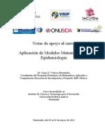 Notas Apoyo Curso Modelos Matematicos en Epidemiología
