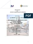 Nueva Ley Contrataciones y Adquisiciones Del Estado