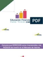 03. Presentación Derechos y Riesgos - Educación Financiera Para Todos (06Feb13)