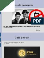 Introducción a Bitcoin - In Criptography We Trust