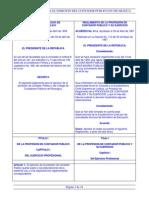 Ley y Reglamento Del Contador