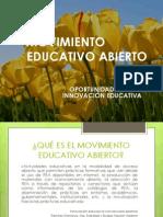 Movimiento Eductivo Abierto e Innovacion Educativa