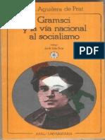 Rodríguez-Aguilera de Prat, Cesáreo. 1984. Gramsci y La Vía Nacional Al Socialismo