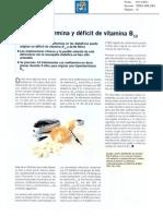 Deficit de Vit.b12 Con Metformina