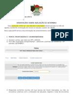 Avaliação Do Professor e Coordenador No SISMEDIO_Final
