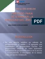 Método Para Determinar La Densidad Del Asfalto
