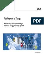 Internet of Things - Internet de Las Cosas