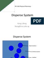 Disperse System