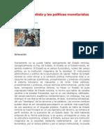 El Estado Rentista y Las Poli_ticas Monetaristas[1]