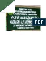 Gedung Sekolah MAS Syamsuddhuha