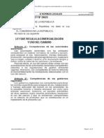 Ley 29023 - Comercialización y Uso NaCN