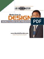 Modul Workshop Slide Design Mastery