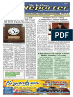 The Village Reporter - September 17th, 2014