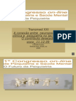 1º Congresso online Psiquiatria e Saúde Mental PT 09 Claudia F