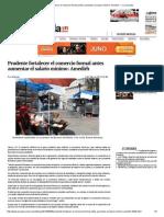 Prudente Fortalecer El Comercio Formal Antes Aumentar El Salario Mínimo_ Amedirh — La Jornada