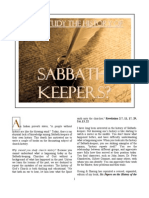 Why Study the History of Sabbath-KEEPERS